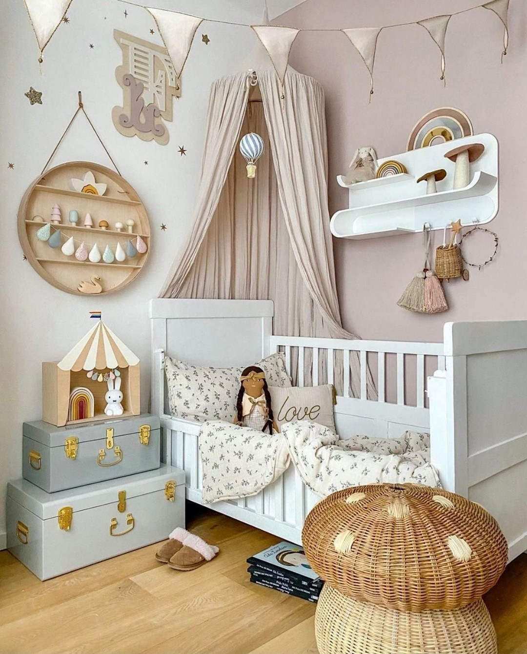 nude tones for kids' rooms