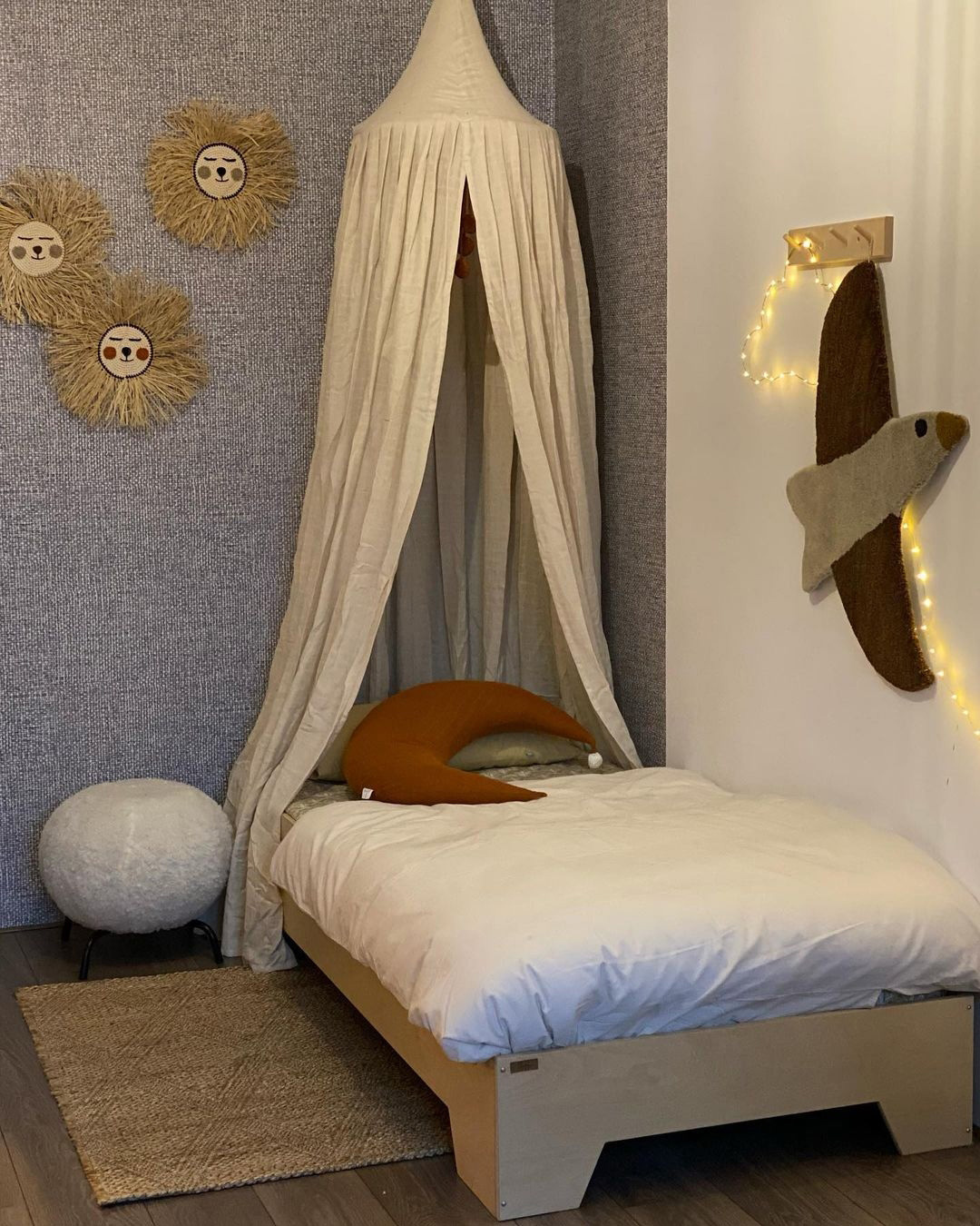 kids rooms with brown