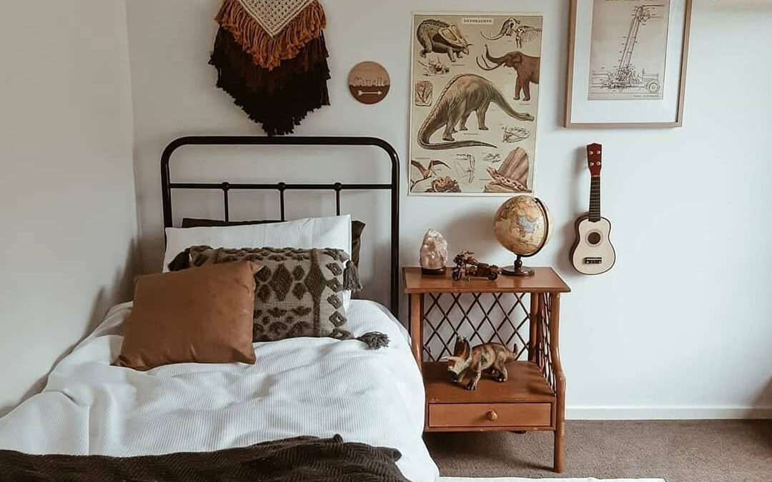 BEAUTIFUL BOYS' ROOMS WITH BROWN