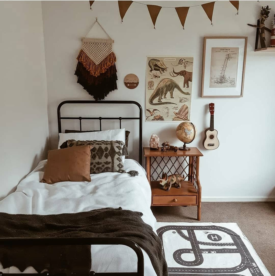 boys rooms with brown