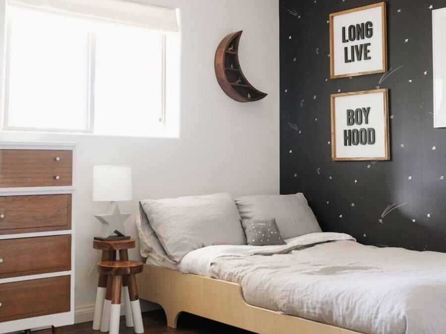 BOYS' ROOMS WITH BLACK