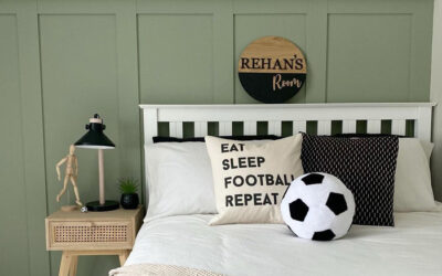IDEAS FOR A SPORTY KID'S ROOM