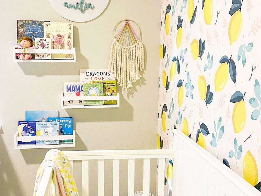 FRUITY COLOURS IN NURSERY ROOMS