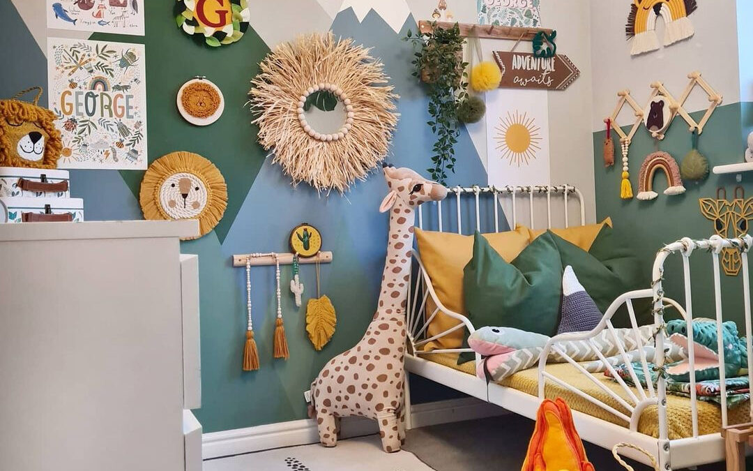 BOYS' ROOMS WITH A SENSE OF ADVENTURE